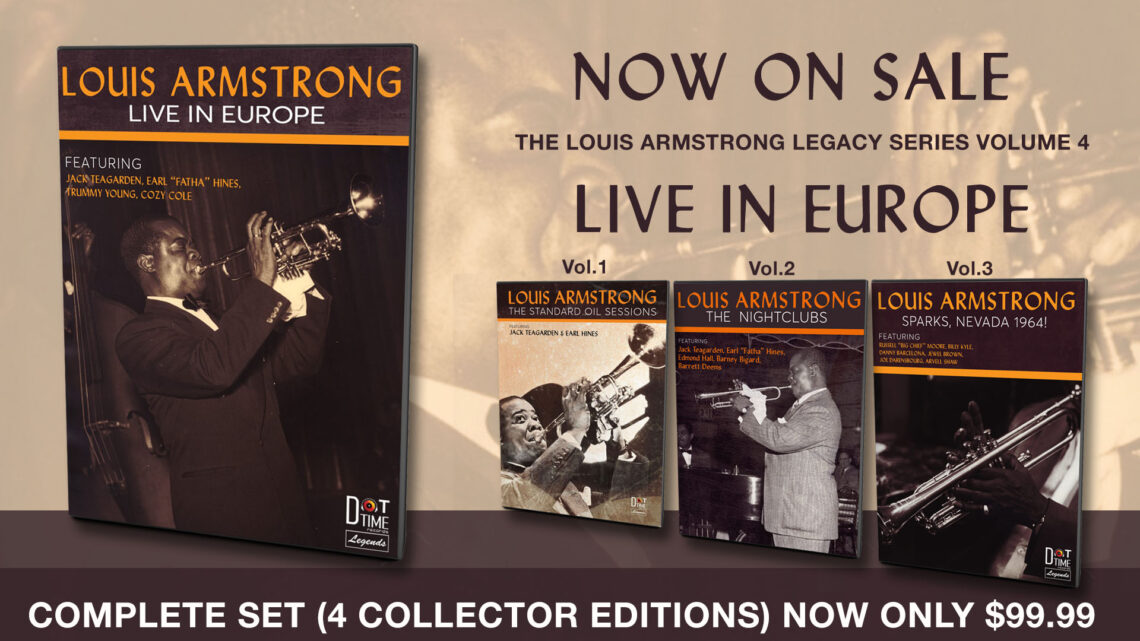 Louis Armstrong Legacy Series Banner